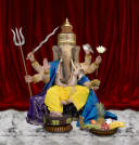 photograph of the god ganesh