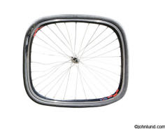 stock picture of a square bicycle tire