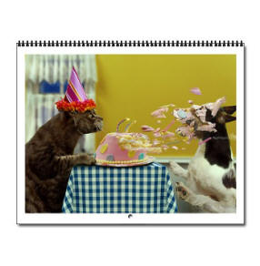 Dogs and Cats  Wall Calendar