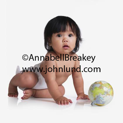 Asian Babies Are The Cutest Asian Baby in Diapers Sitting