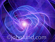 This cosmic swirl stock photo illustrates the ideas of energy, innovation, communications and scientific research.