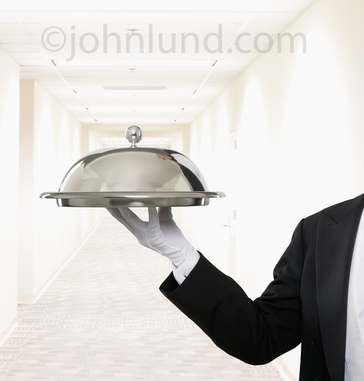 Service on a Silver Tray