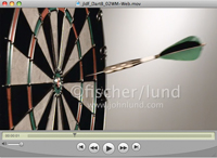 A super slow motion video of a dart hitting a perfect bulls eye in ultra slow motion stock footage