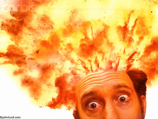Image result for funny head exploding