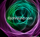 Concept stock photo of abstract light patterns: a complex and intricate pattern created by colored lights. Picture of abstract light patterns.